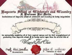 Hogwarts diploma random pinterest for Hogwarts diploma
