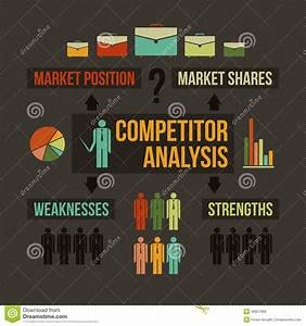 Competitor Analysis Stock Vector