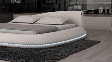 matratze für wasserbett wasserbett rundbett modena 180 x 200 cm mit color led