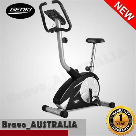 Upright Magnetic Exercise Fitness Bike Home Indoor Cardio ...