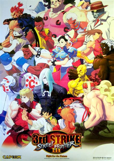 Street Fighter Iii 3rd Strike — Strategywiki The Video