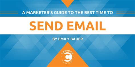 a marketer s guide to the best time to send email