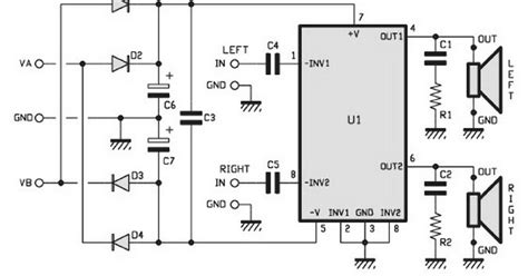 Audio Kit Watt Stereo Power Amplifier