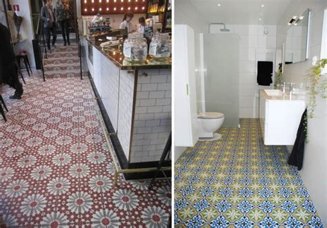 carrelage cuisine metro blanc carrelage imitation carreaux de ciment un grand retour