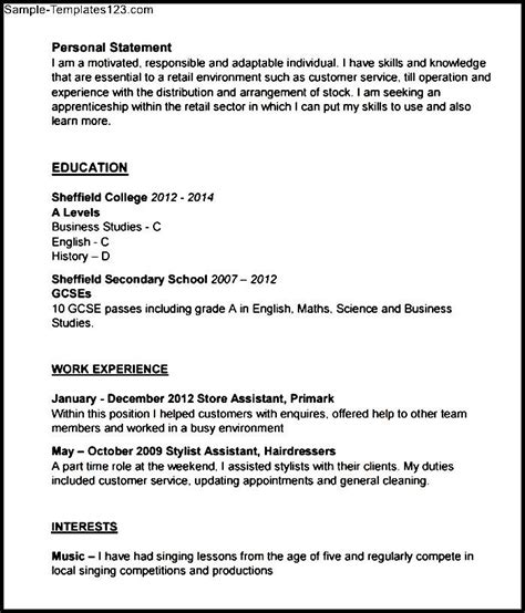 hairdresser resume template pdf sle templates