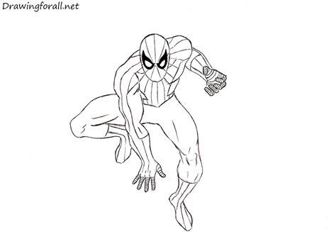 amazing spider man drawing tutorial drawingforallnet