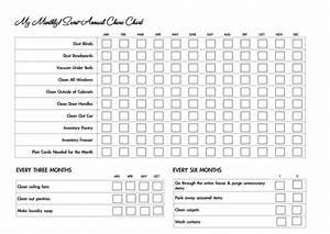 Free Blank Chore Chart Templates For Kids Families