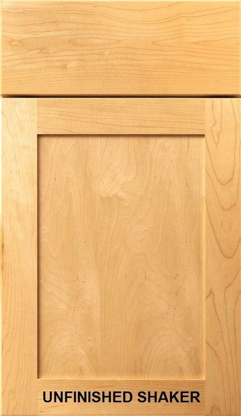Unfinished Shaker Kitchen Bath Cabinet Doors Drawer Fronts