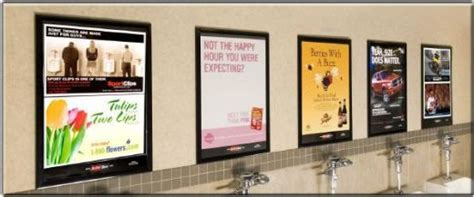 7 best images about restroom advertising on
