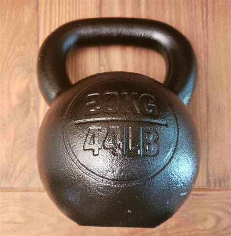 kettlebell coat 20kg crossfit rogue 44lb gym ship fitness fast usa