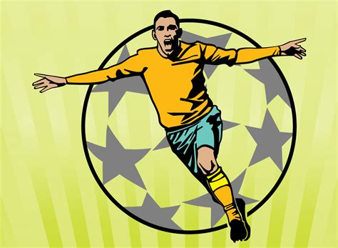 Free Cartoon Soccer Player, Download Free Clip Art, Free