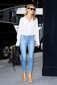 The Most Popular Shoes Celebrities Wear With Skinny Jeans | WhoWhatWear