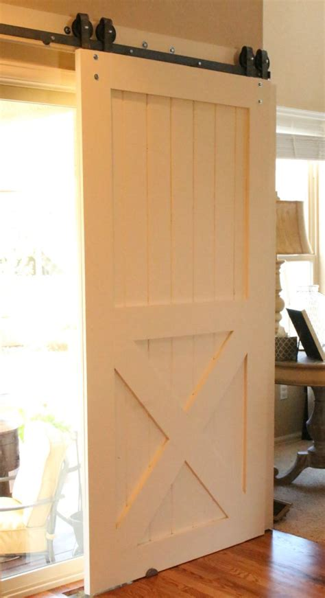 how to make a barn door barn doors for patio slider the house of silver lining