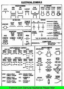 Residential Electrical Schematic Symbols  Residential