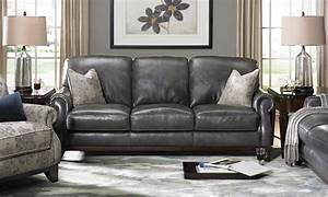 Gray leather sofa gray leather sofa and chair gray for Gray leather sofa