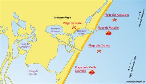 plage du grazel gruissan plage 11 aude languedoc roussillon plages tv