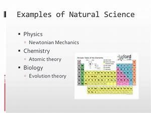 Natural Science versus Pseudoscience