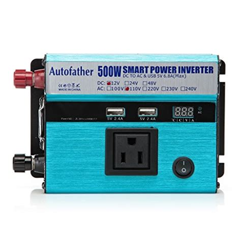 power inverter dc 12v to ac 110v 500w watt modified sine wave for mobile phone player