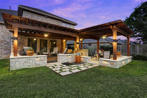 patio homes for in the woodlands tx design patio covers houston dallas pergolas patio design katy