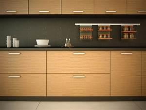 Euro Walnut Kitchen Cabinet Doors