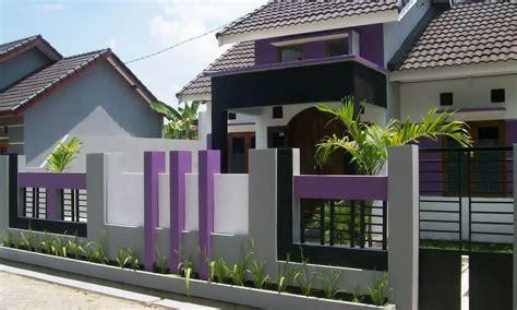 pagar rumah minimalis modern terlengkap   fimell