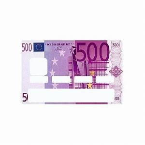Faux Code Carte Bancaire : stickers billet 500 euros univers carte bancaire etiquette autocollant ~ Medecine-chirurgie-esthetiques.com Avis de Voitures