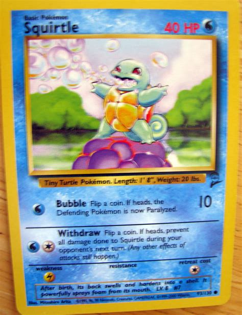 You can adjust your cookie preferences at the bottom of this page. Squirtle   Pokemon cards for sale, Pokemon cards, Squirtle