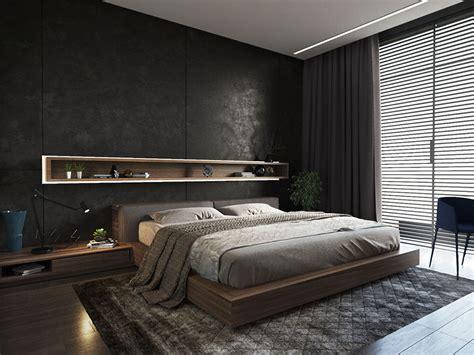 da letto nera e da letto nera 20 idee per arredi di design in