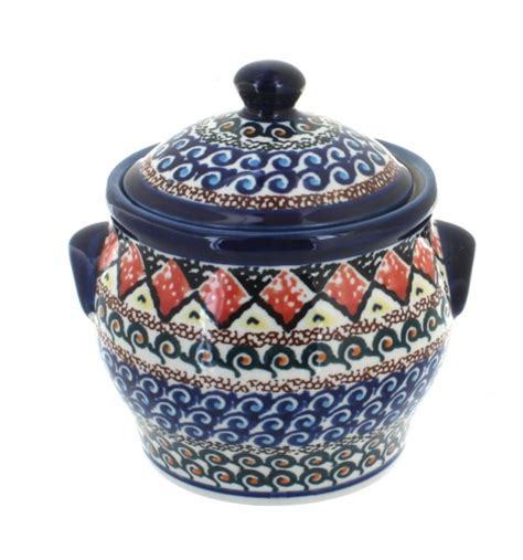 Blue Rose Polish Pottery   Kitchen Accessories