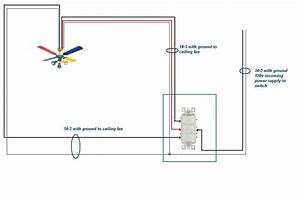 I am wiring a flush ceiling fan with light and night