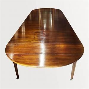Table Salle A Manger Petite Largeur : table de salle manger en bois naturel ~ Teatrodelosmanantiales.com Idées de Décoration