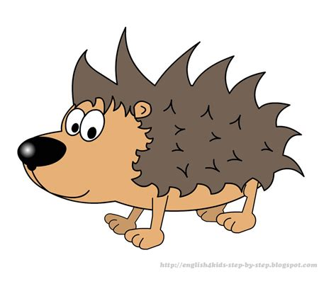 Hedgehog Clipart Free Clip For Teachers Forest Animals