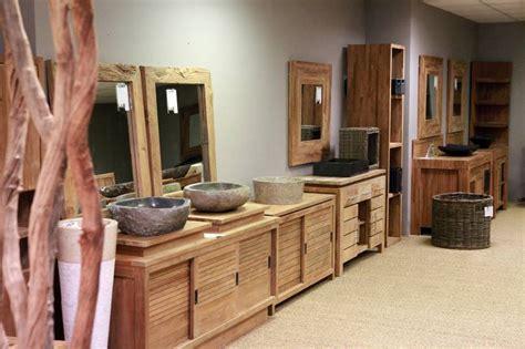 meuble de salle de bain en teck leroy merlin show room la centrale du meuble fr
