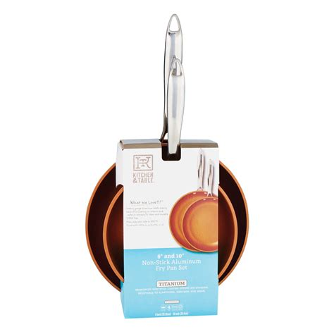 kitchen table copper fry pan shop cookware