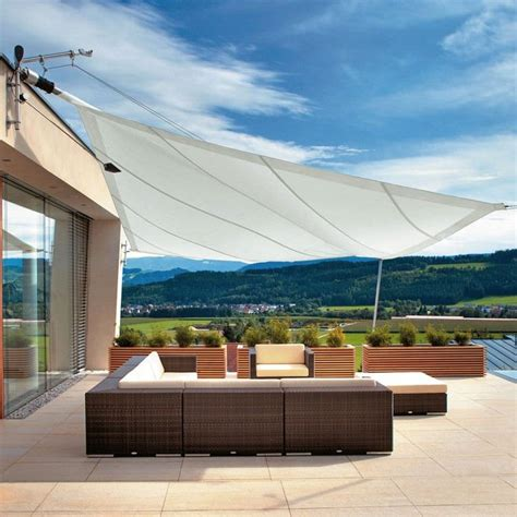 toile protection solaire exterieure protection solaire 55 id 233 es pour la terrasse ext 233 rieur