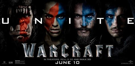 warcraft  beginning  poster  trailer addict