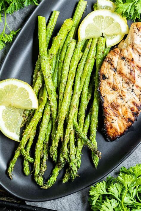 air asparagus fryer sauces dips serve
