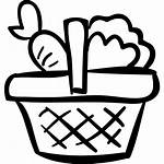 Basket Vegetables Hand Icon Drawn Icons Vegetable