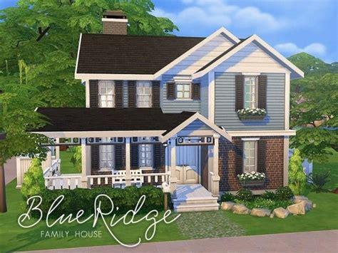 Sims 4 House Design Ideas :  Blue Ridge Family House By Smubuh