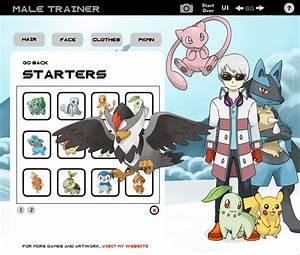pokemon trainer creator deviantart images
