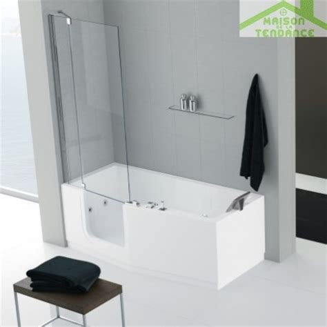 baignoire avec porte baignoire 224 porte novellini iris version comby avec pare