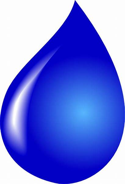 Water Drop Clip Clipart Clker Vector Domain