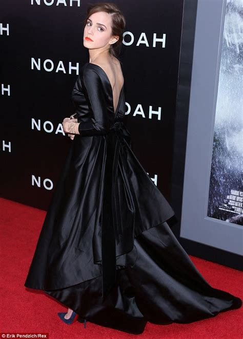 Emma Watson Wears Diamond Ear Cuff Noah Premiere