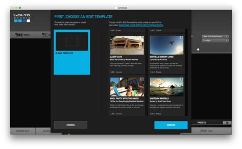 gopro templates gopro studio bumperをblank templateで使用する方法 mac 版