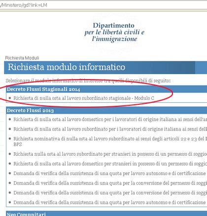 Nullaostalavoro Interno It Ministero Conferma Registrazione Flussi Domanda Per 15 Mila Lavoratori Stagionali Coppie
