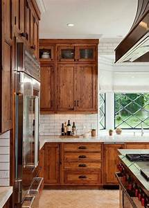 30, Popular, Wooden, Cabinets, Design, Ideas, For, Your, Kitchen, Decor