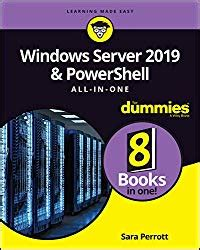 windows server 2019 powershell all in one for dummies