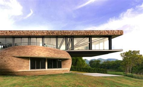 Modern Wooden House Design Combine Asian And European
