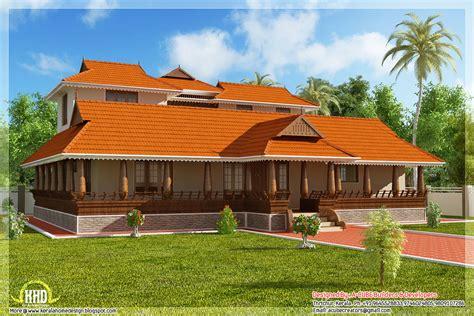 2231 sq.feet Kerala illam model traditional house - Kerala