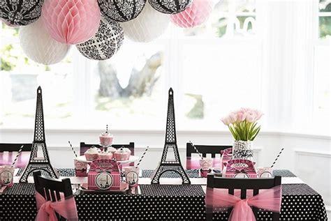 A Paris Damask Birthday Party Evite